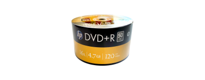 HP DVD+R 4.7 GB 50'Lİ PAKET