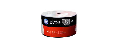 HP DVD-R 4.7 GB 16X 50'Lİ PAKET