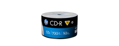 HP CD-R 700 MB 52X 50'Lİ PAKET